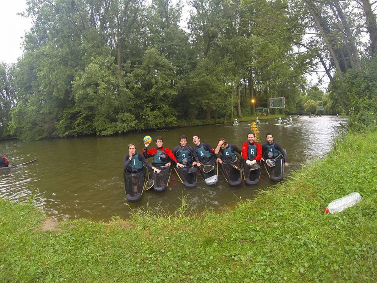 Kayak Polo N4 - Juin 2015
